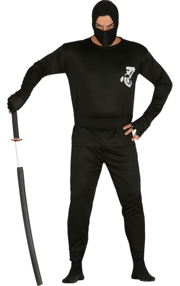 Adult Bargain Ninja Costume