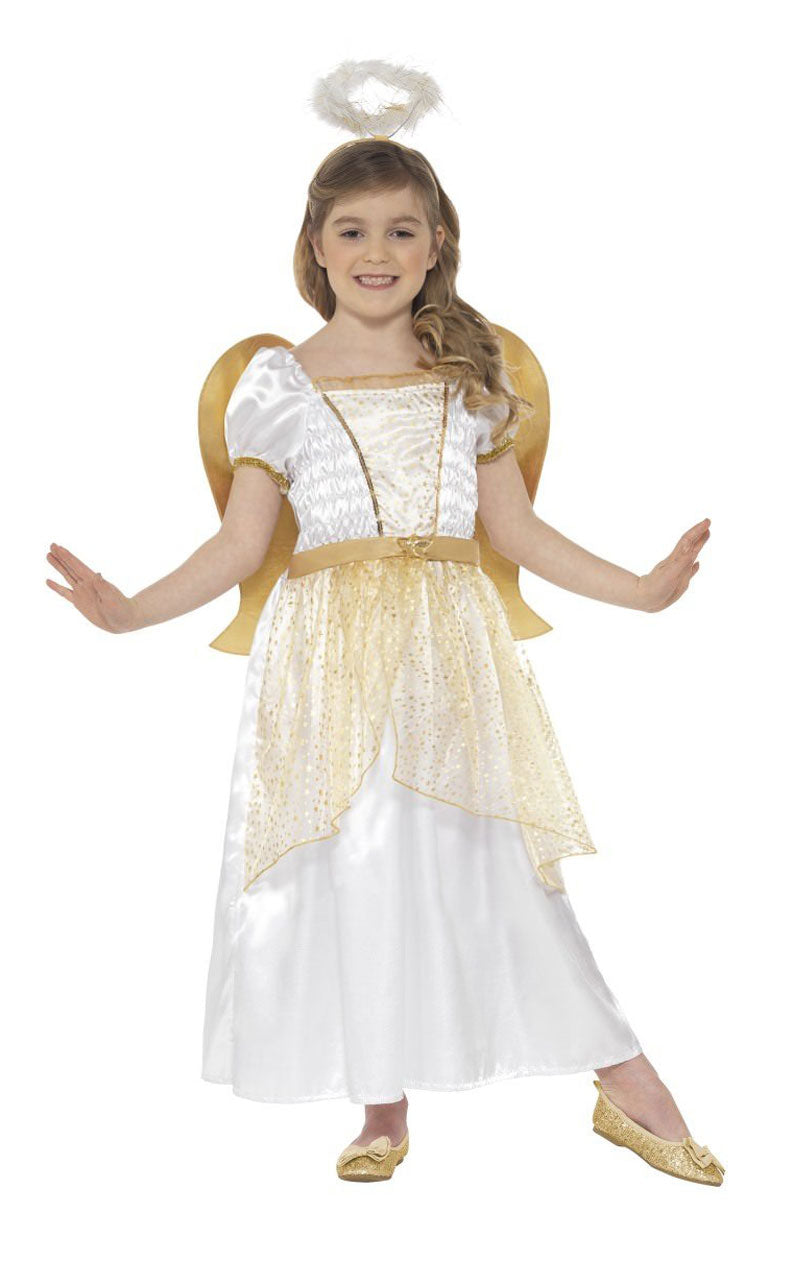 Child Golden Angel Costume