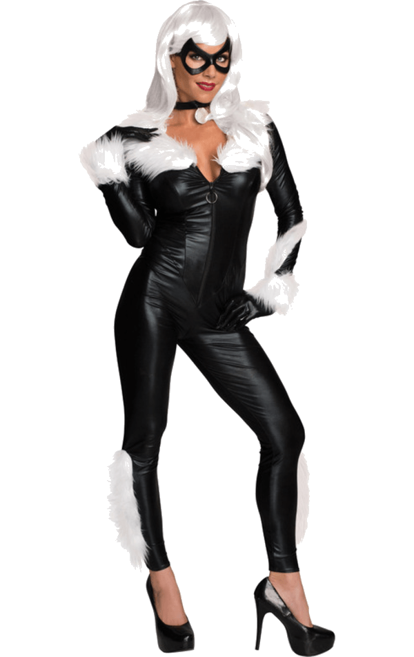 Adult Secret Wishes Black Cat Costume