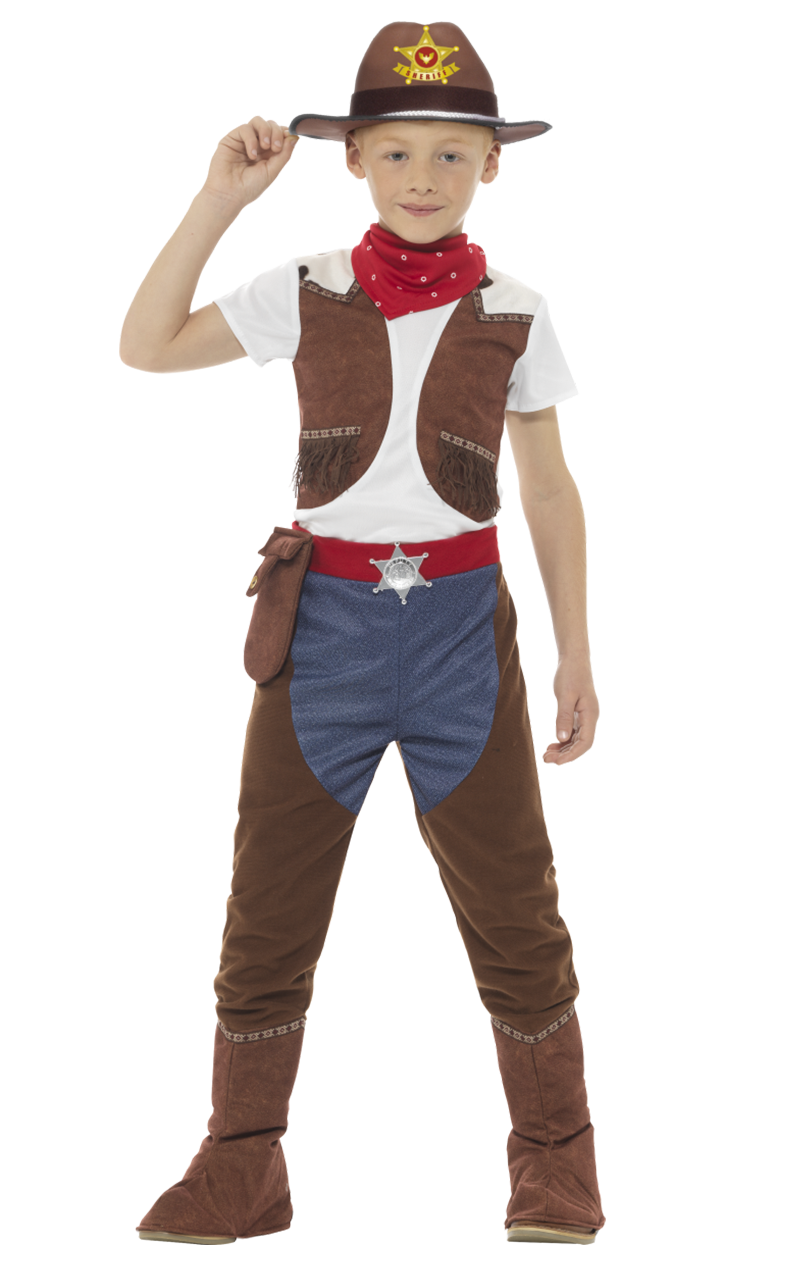 Kids Little Cowboy Costume