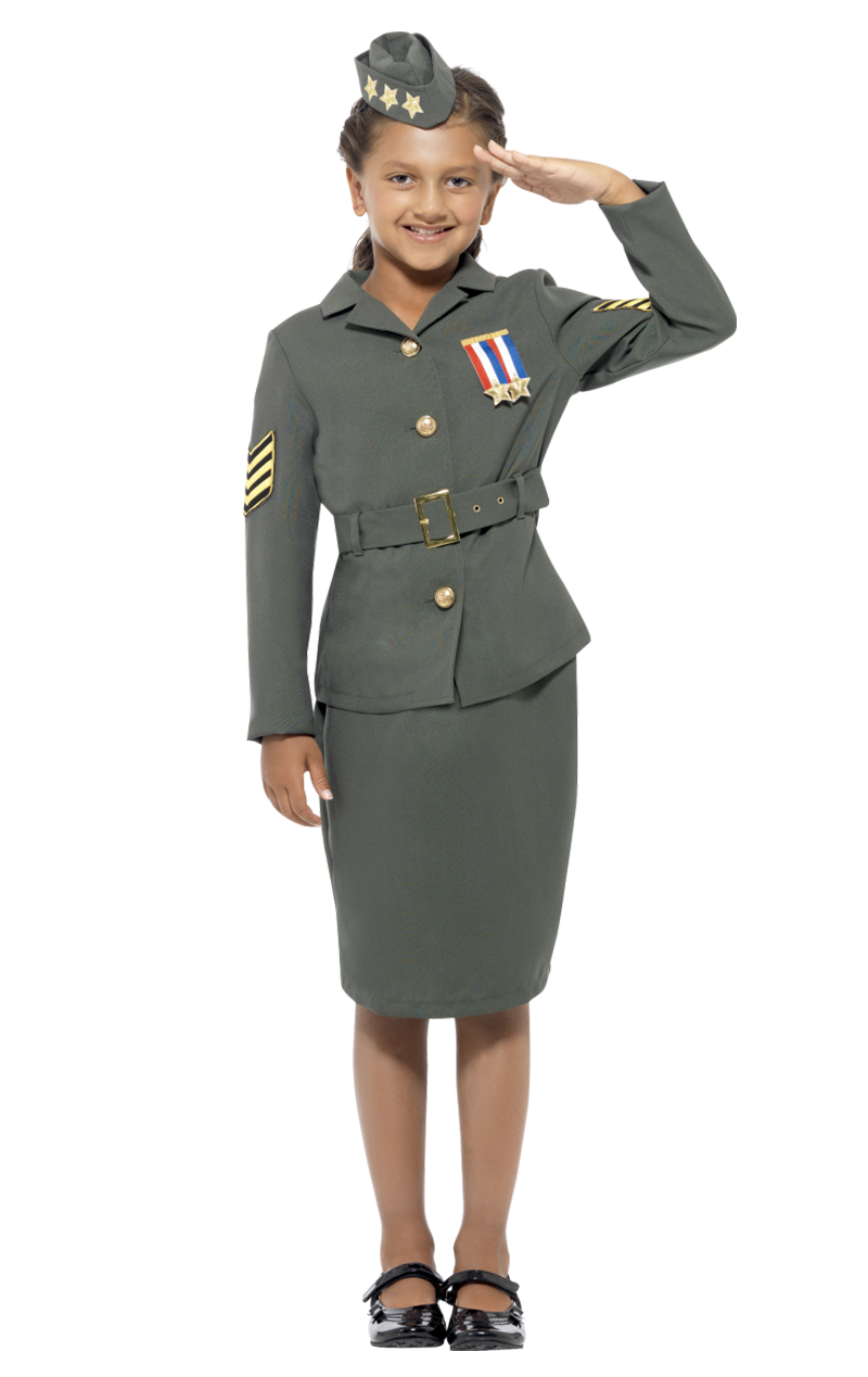 WW2 Army Cadet Costume