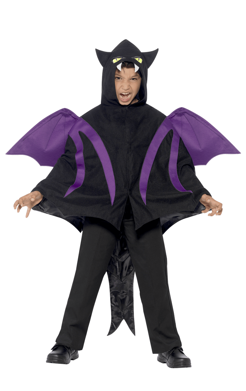 Child Hooded Creature Cape