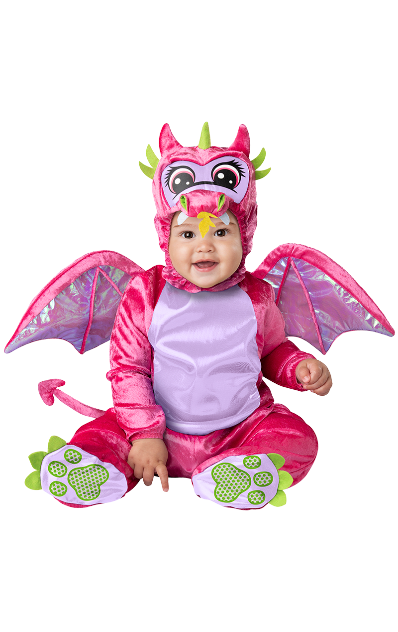 Pink Baby Dragon Costume