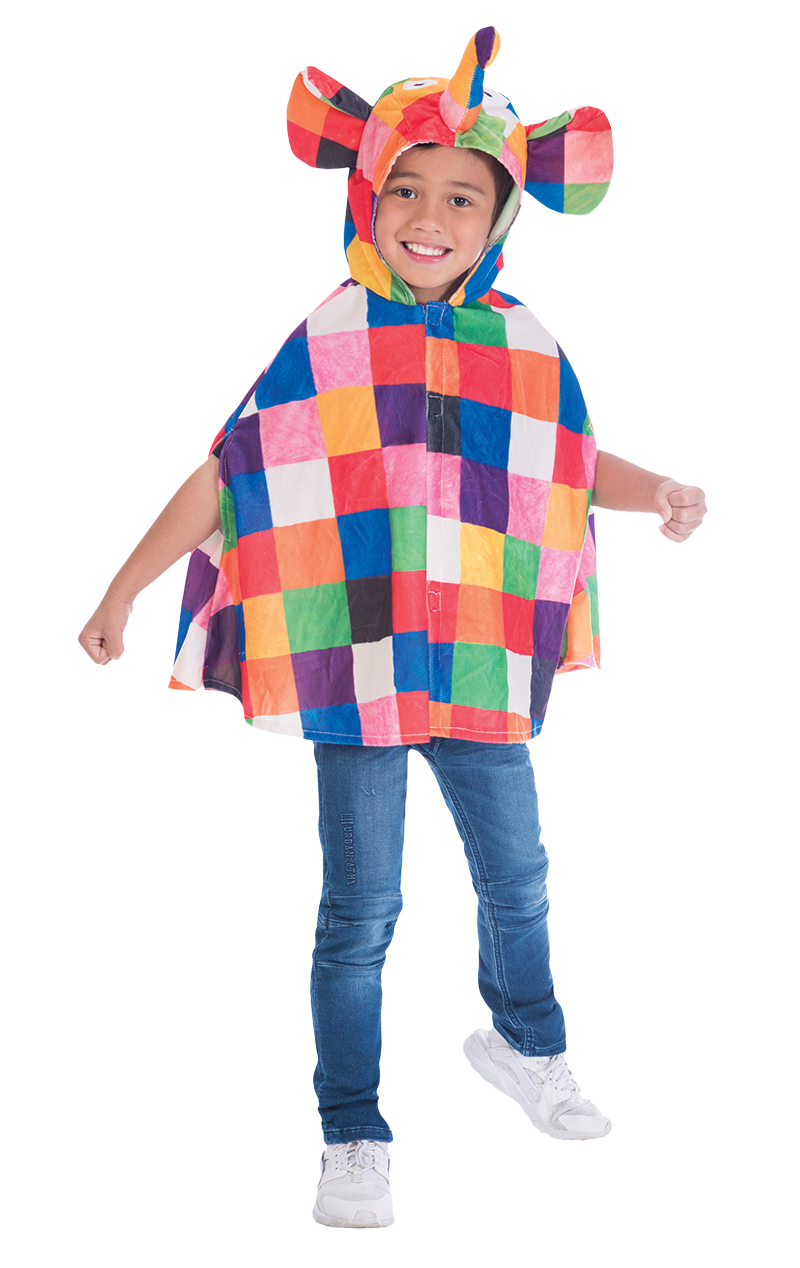 Kids Elmer Cape Costume