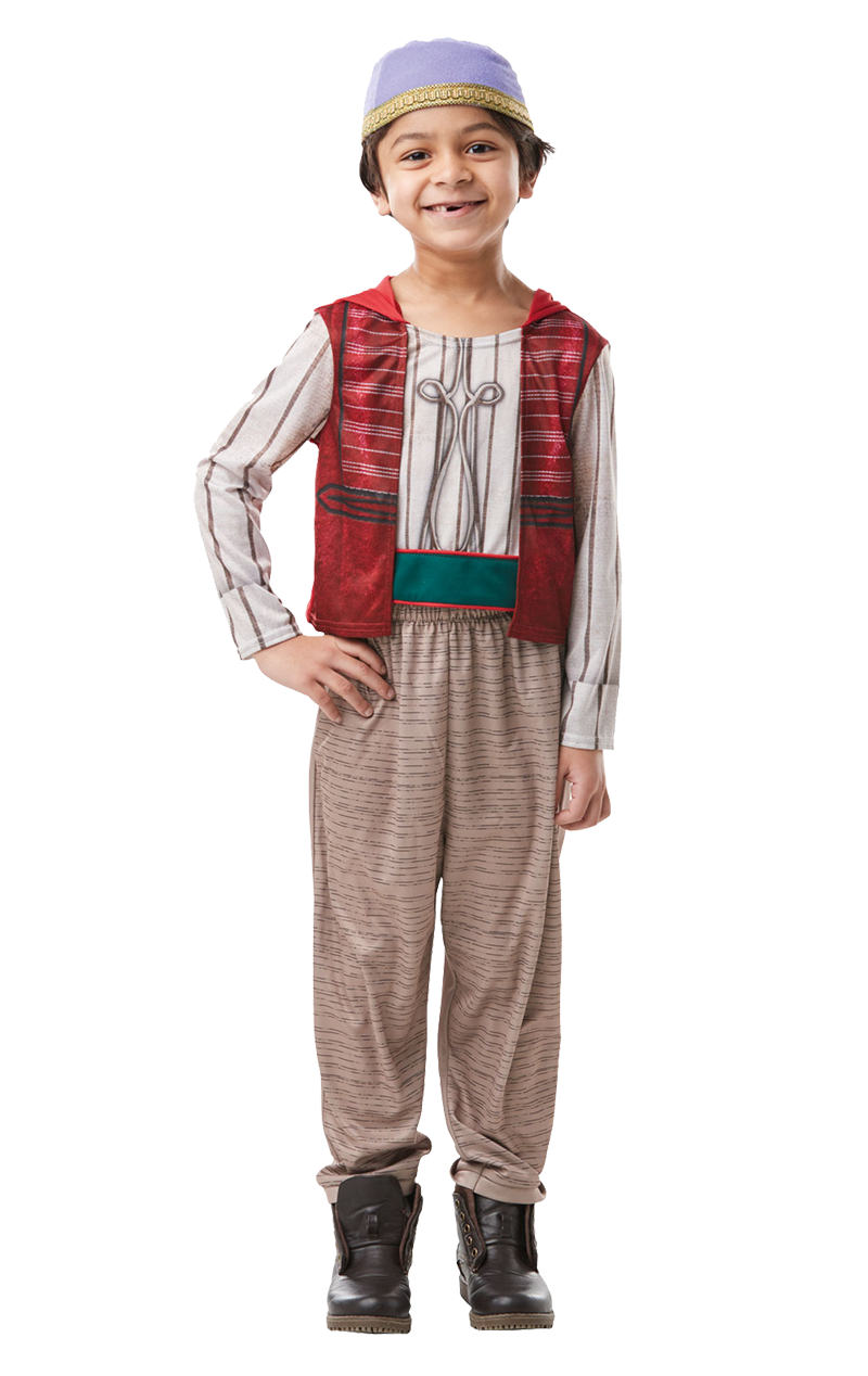Boys Aladdin Movie Costume