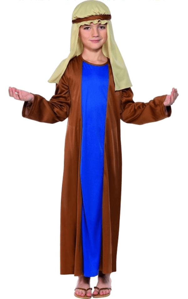 Boys Blue Joseph Nativity Costume