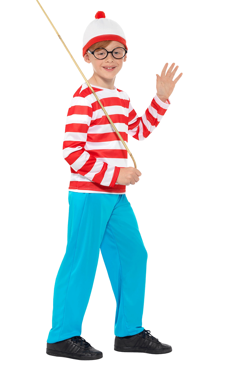 Boys Where's Wally Costume