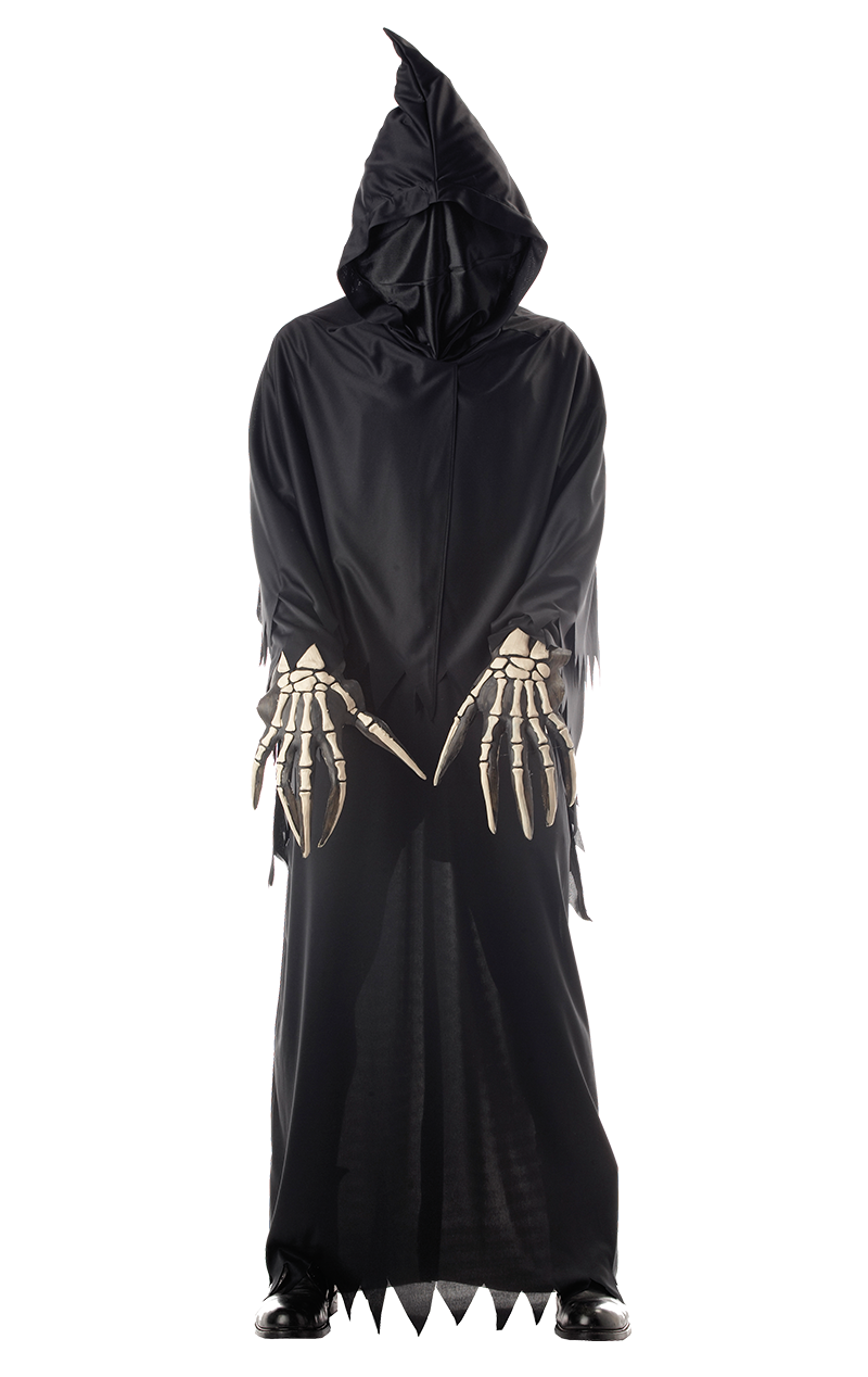 Boys Dark Grim Reaper Costume