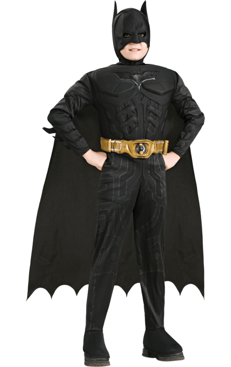 Kids Batman Dark Knight Muscle Costume