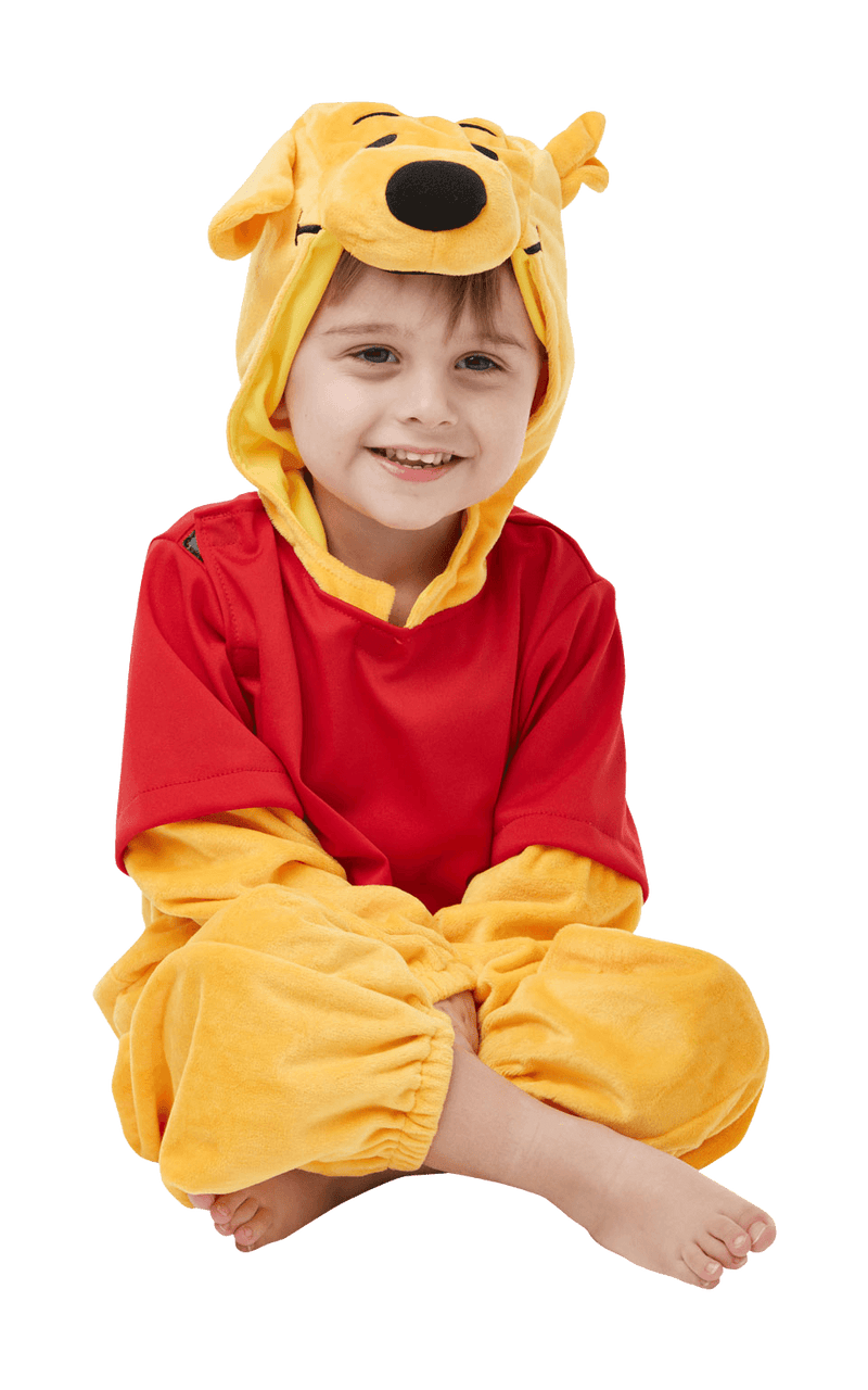 Child Winnie The Pooh Furry Costume