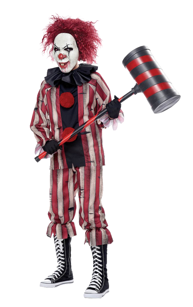 Boys Nightmare Clown Halloween Costume