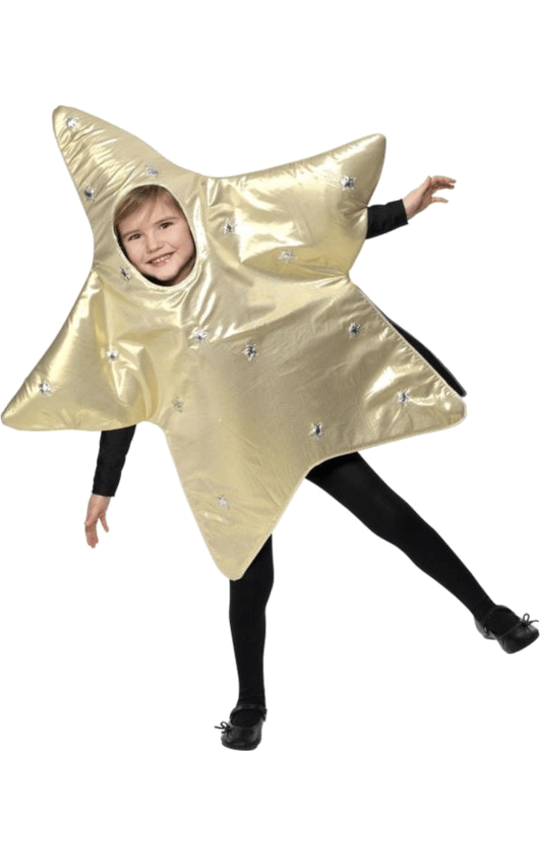 Child Christmas Star Costume