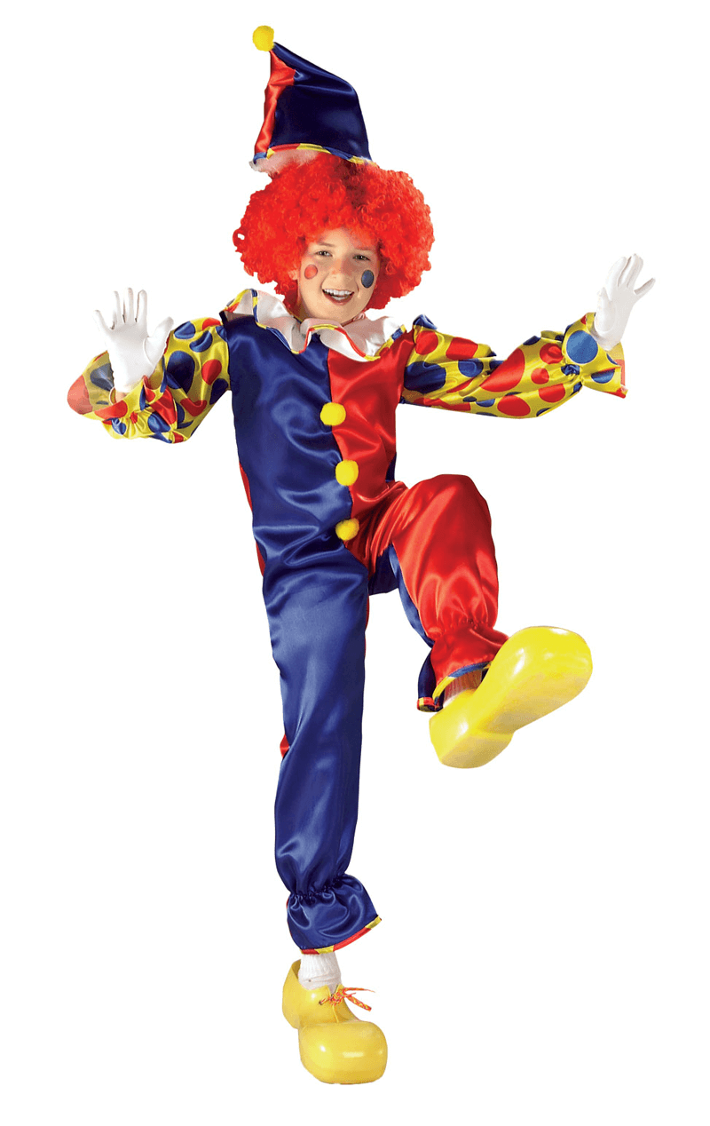 Child Bubbles the Clown Costume