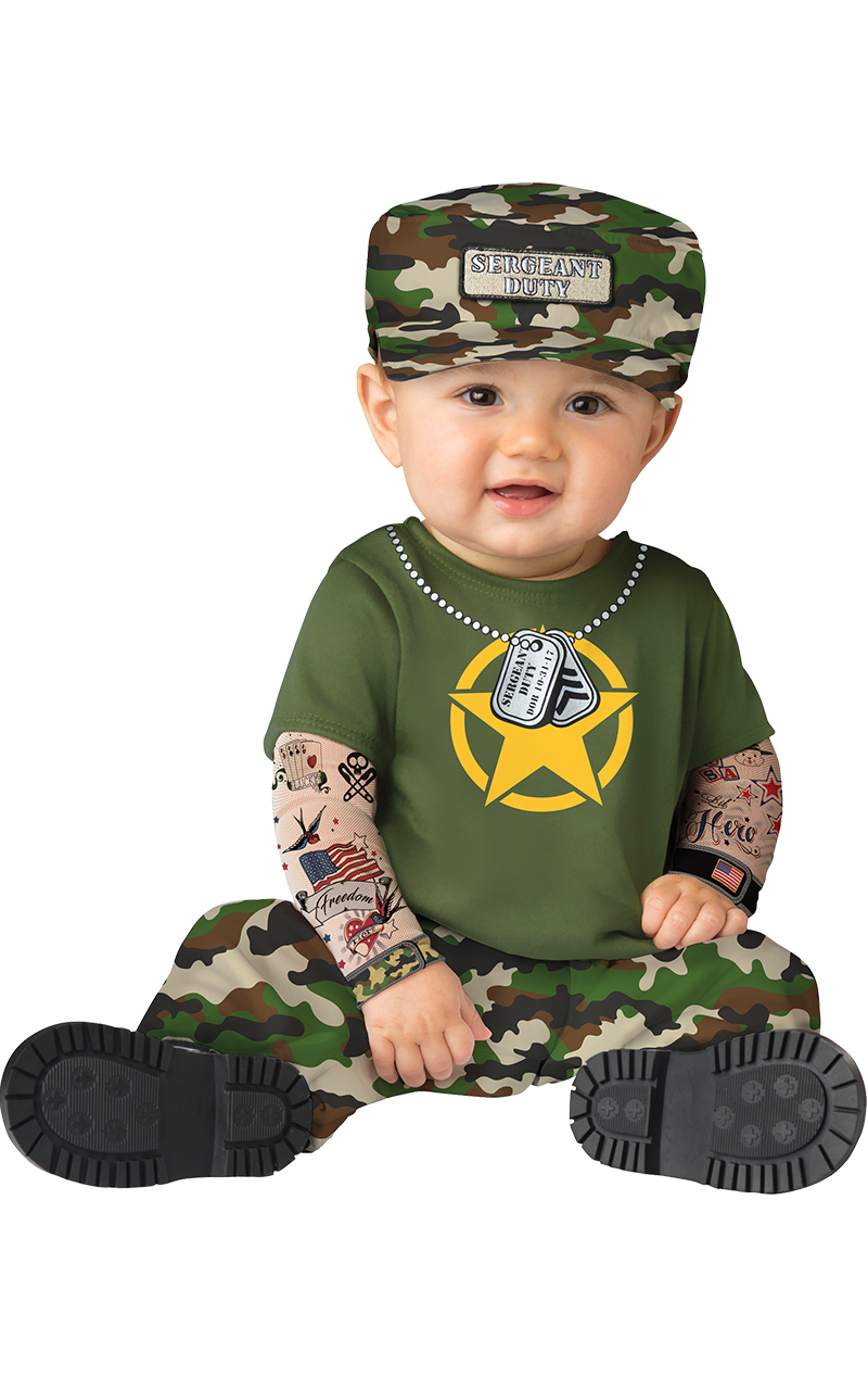Sergeant Duty Baby Costume
