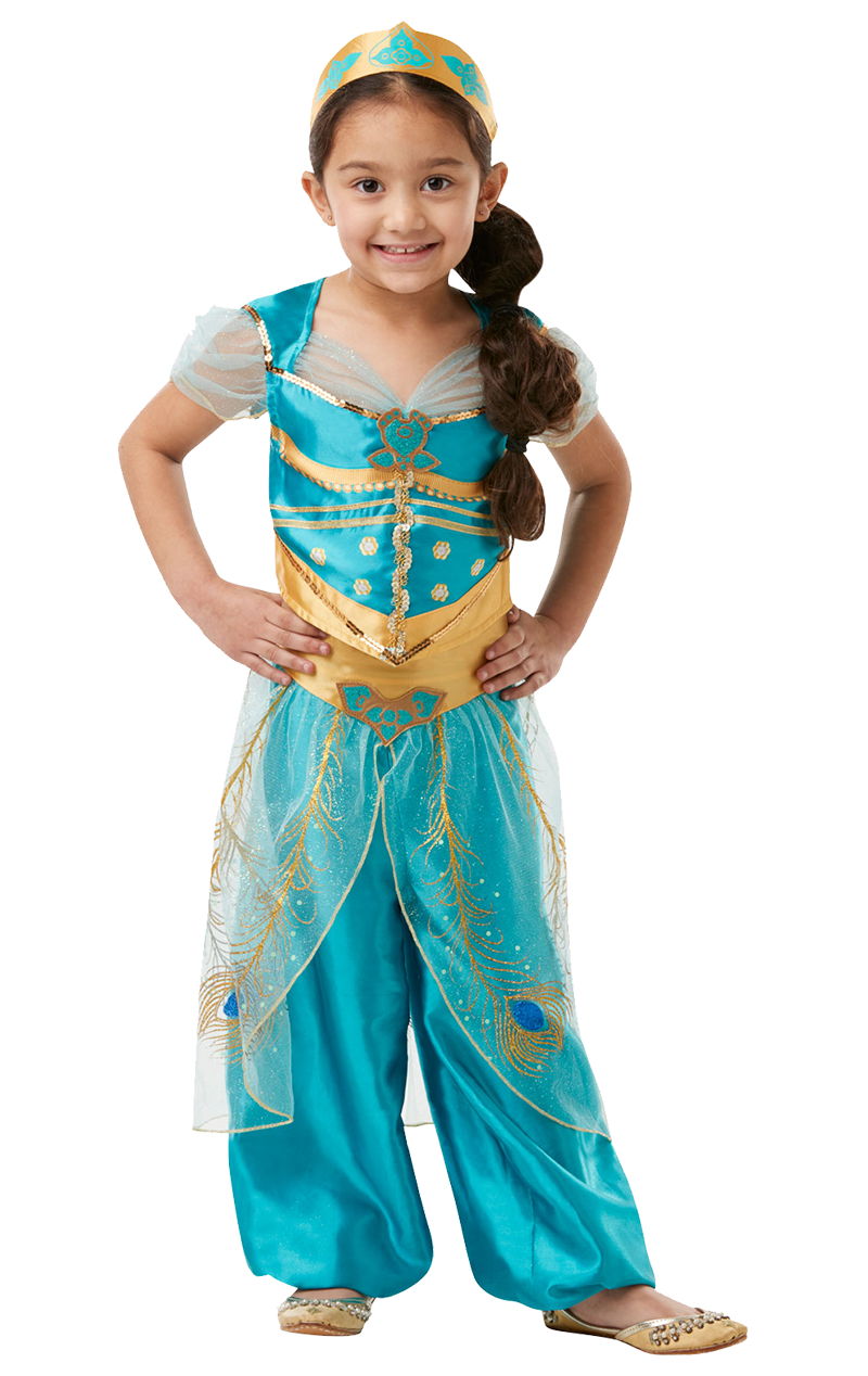 Girls Jasmine Aladdin Movie Costume