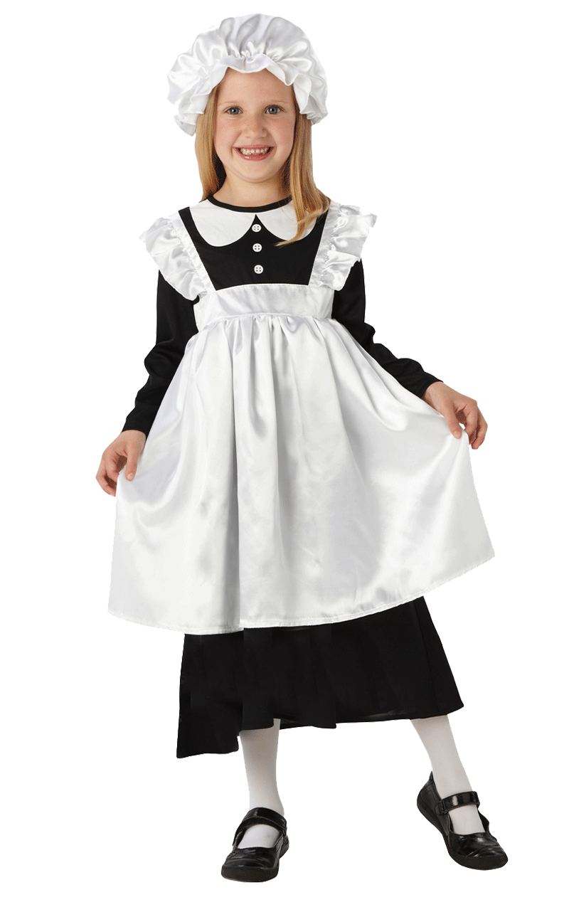 Child Victorian Maid Costume