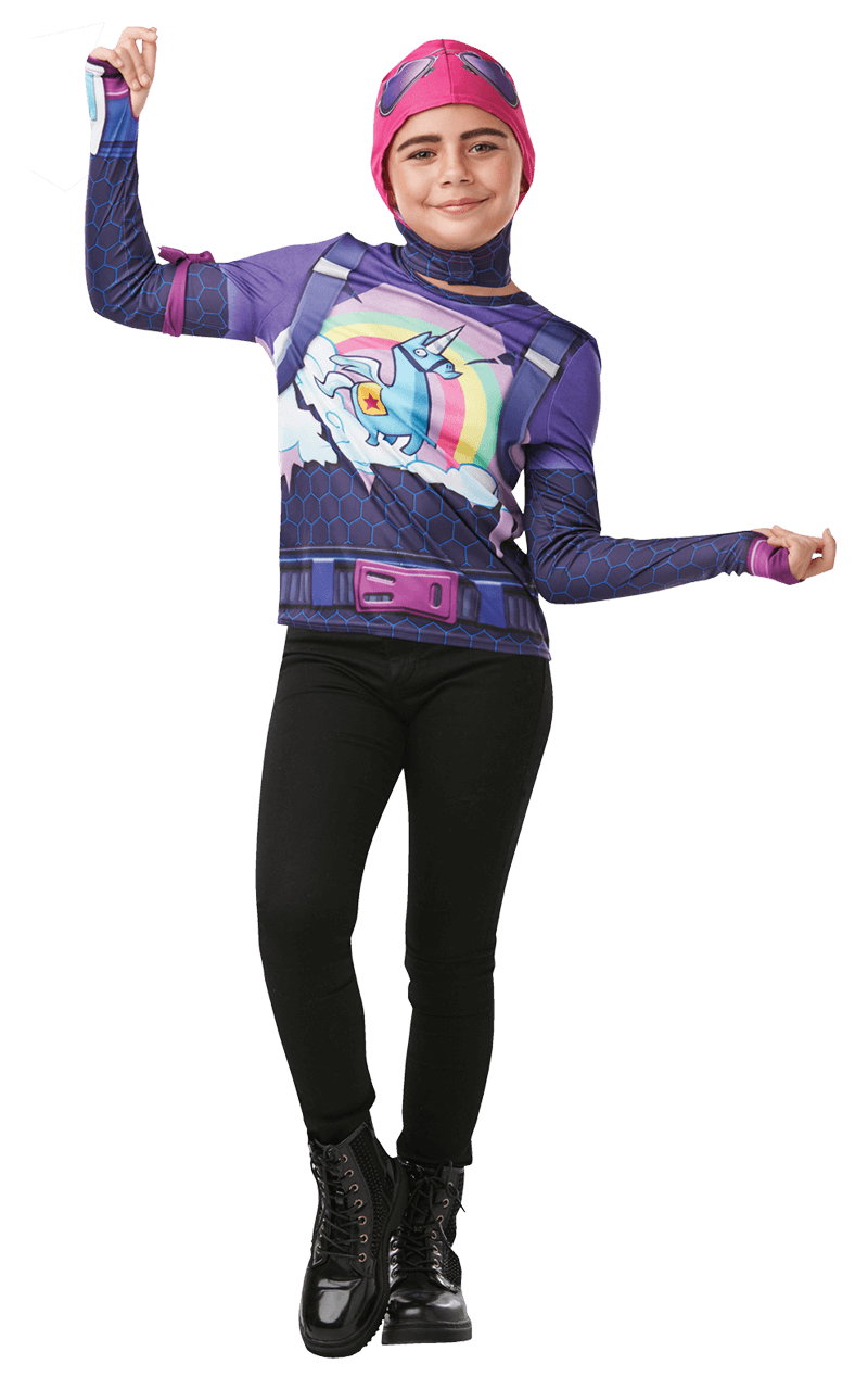 Kids Brite Bomber Fortnite Costume