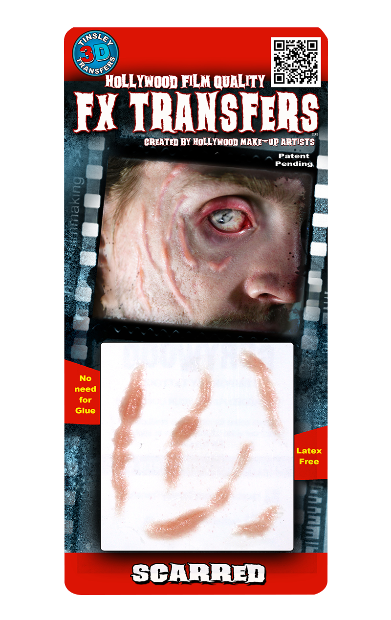 Scarred 3D FX Transfers Accessory
