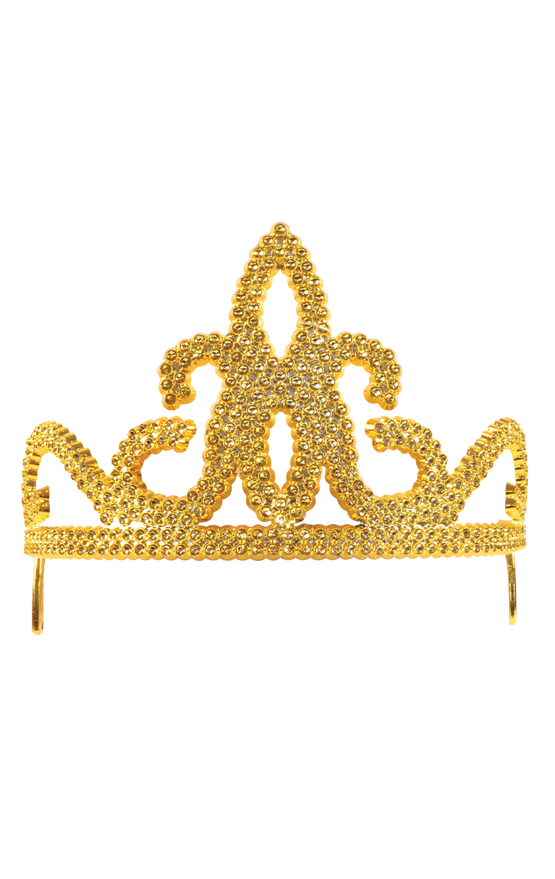 Gold Princess Tiara