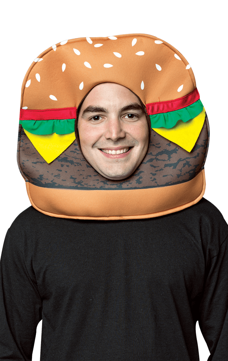 Cheeseburger Novelty Headpiece Accessory