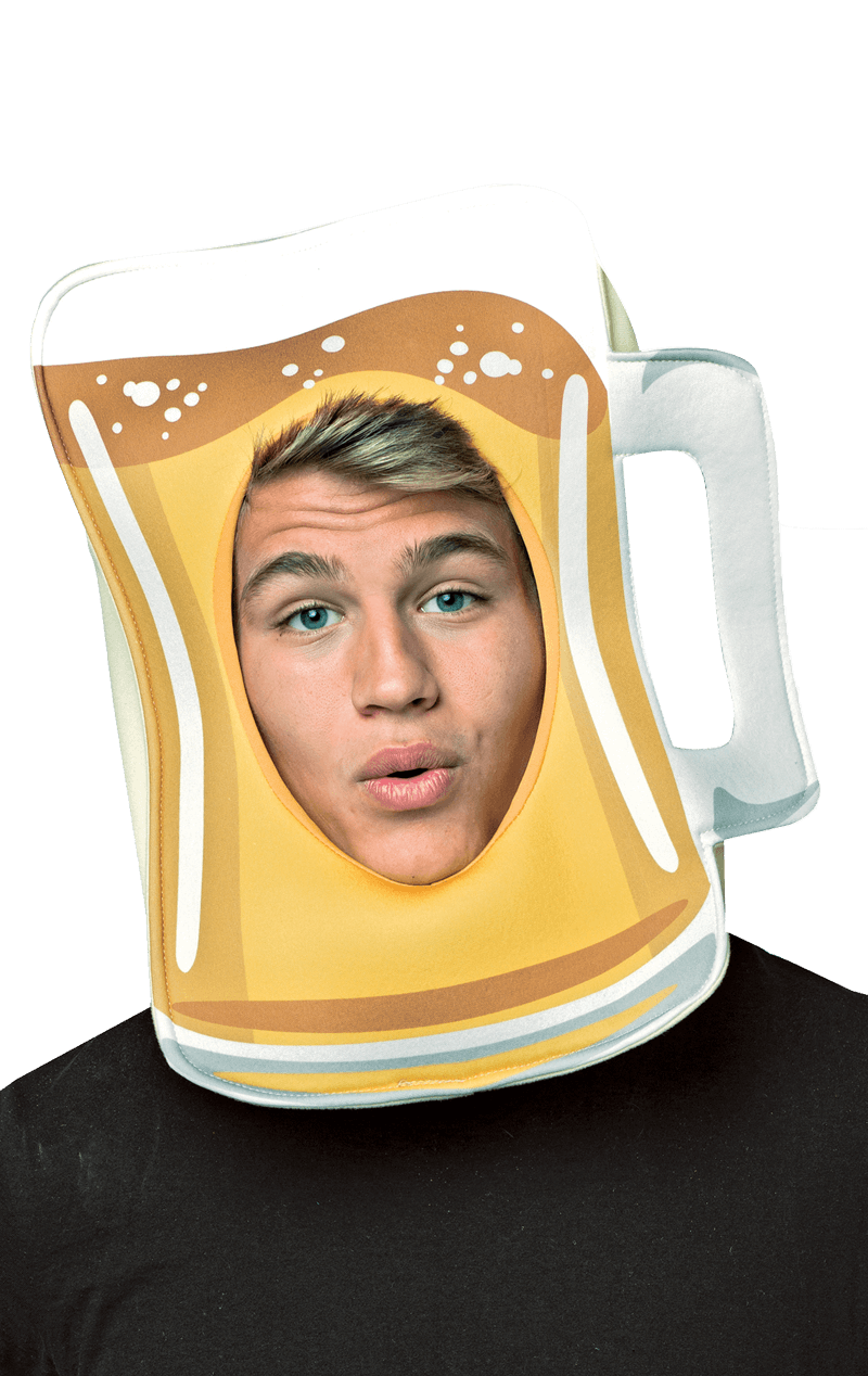Beer Mug Foam Headpiece