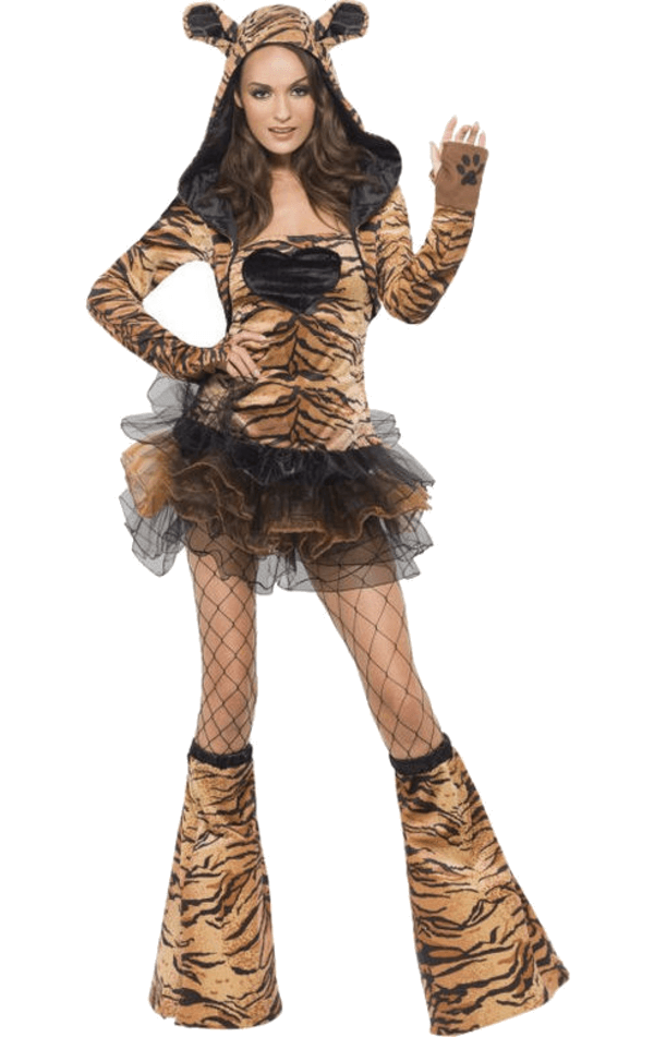 Adult Tutu Tiger Animal Costume