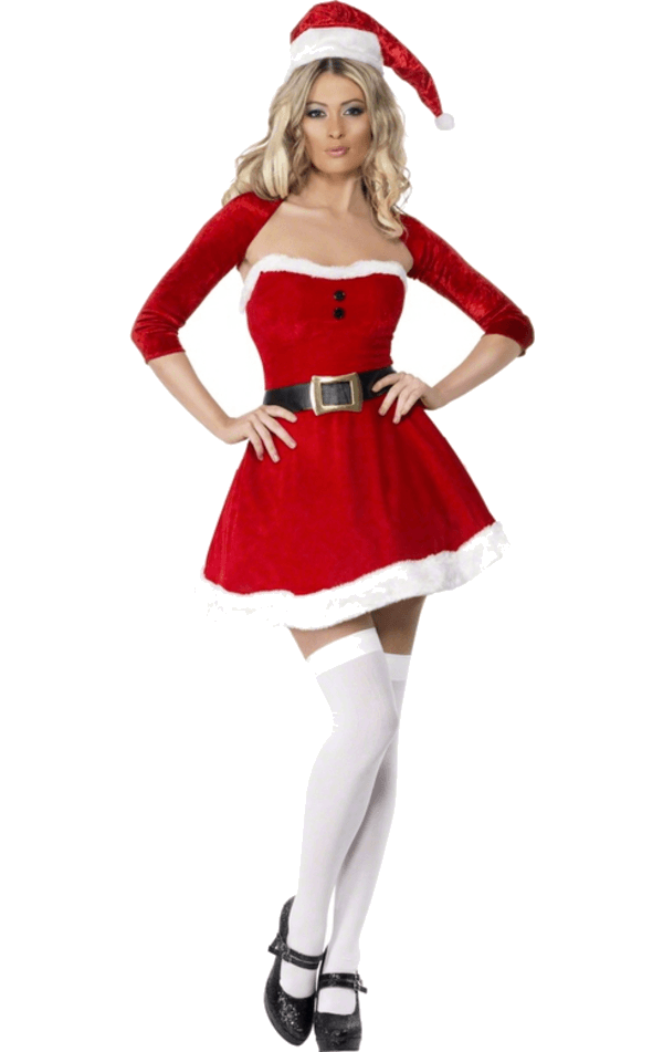 Womens Santa Babe Christmas Costume