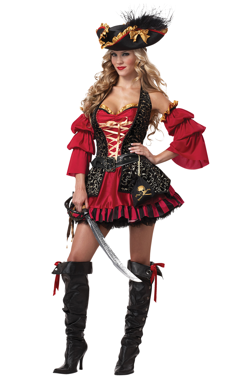 Ladies Spanish Pirate Costume