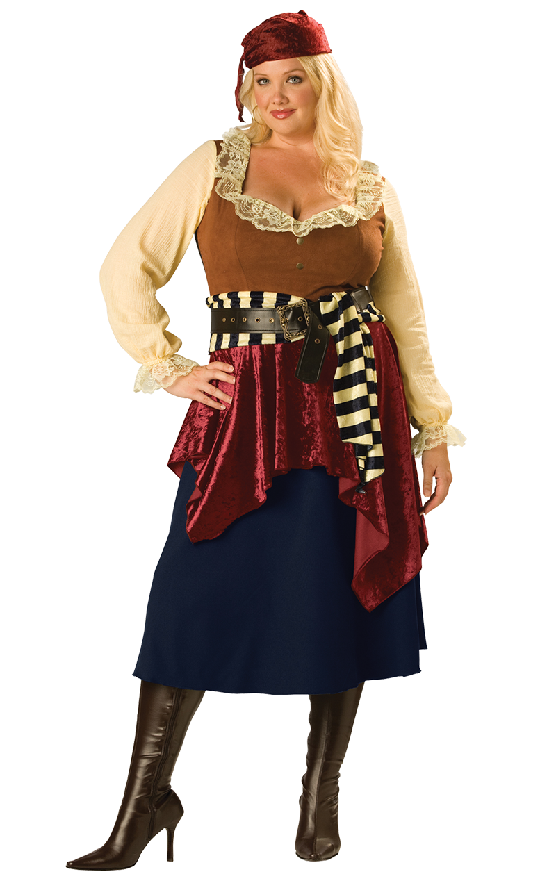 Pirate Beauty (Plus Size) Costume