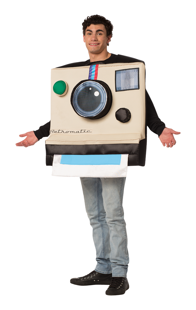 Retro Polaroid Camera Costume