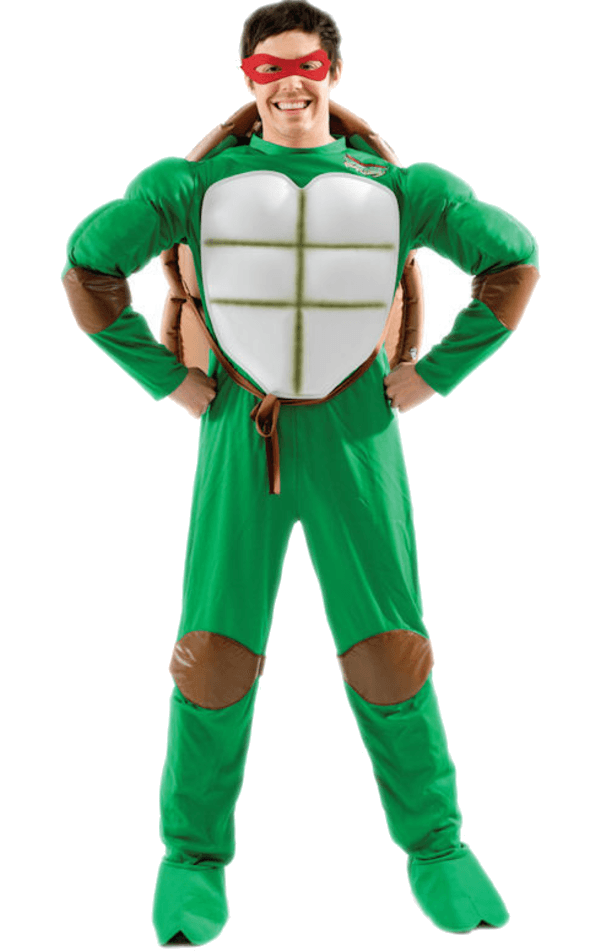 Adult 80s Mutant Ninja Turtle Costume