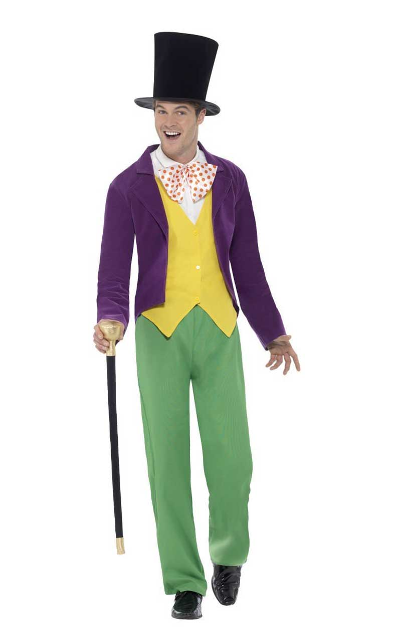 Adult Storybook Willy Wonka Costume