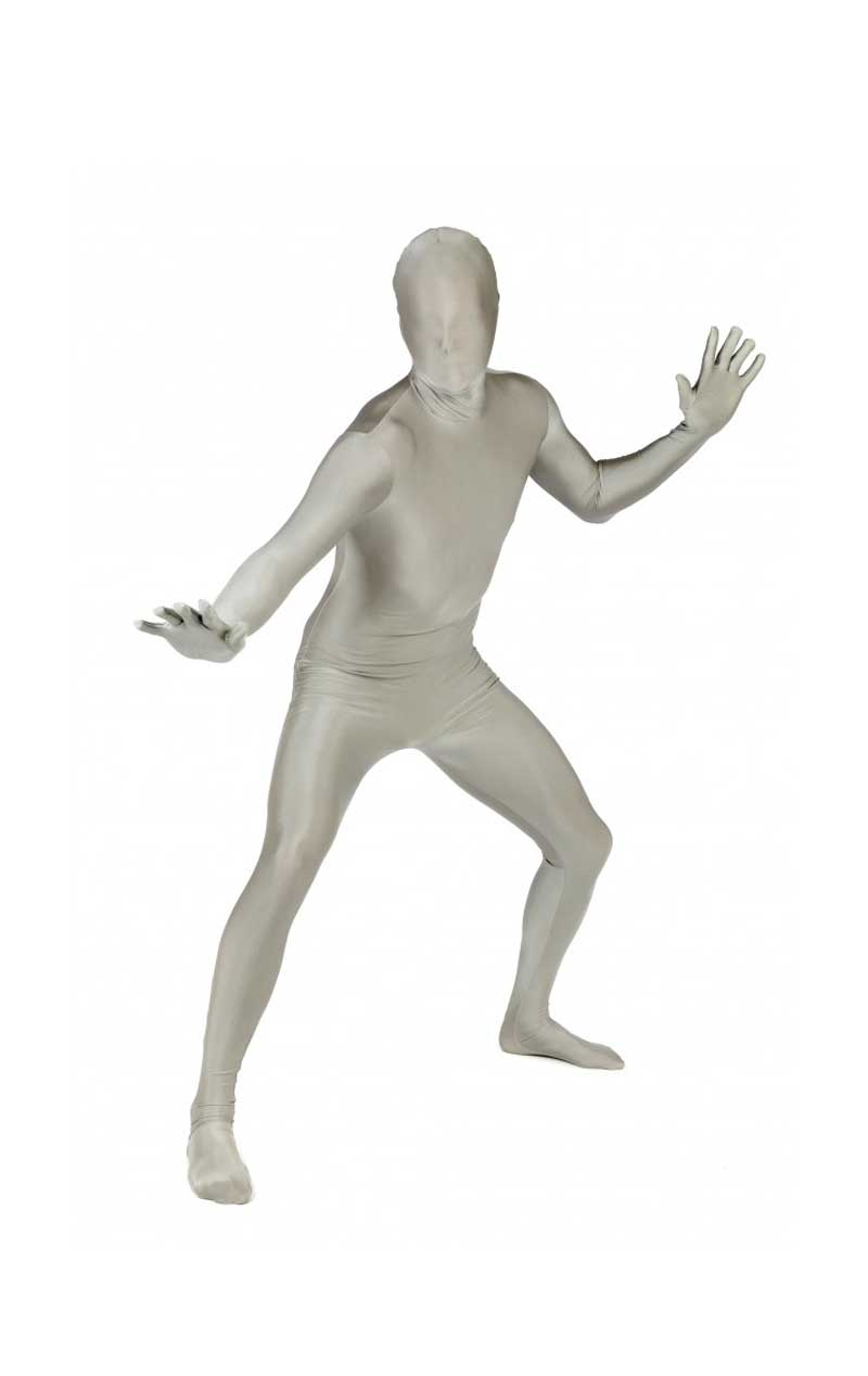 Silver Morphsuit