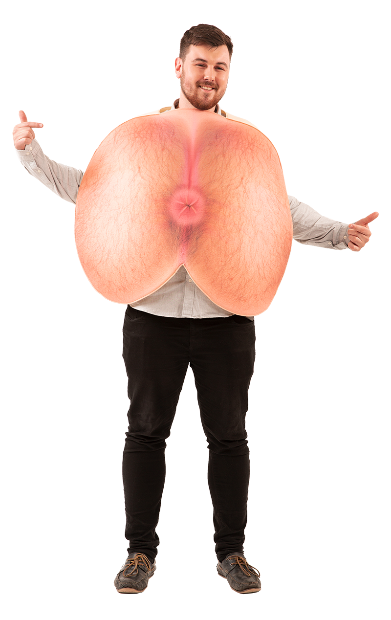 Adult Bum Hole Costume