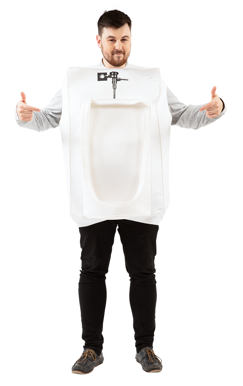 Mens Urinal Costume