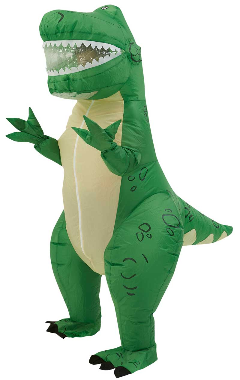 Adult Inflatable Rex Toy Story Costume