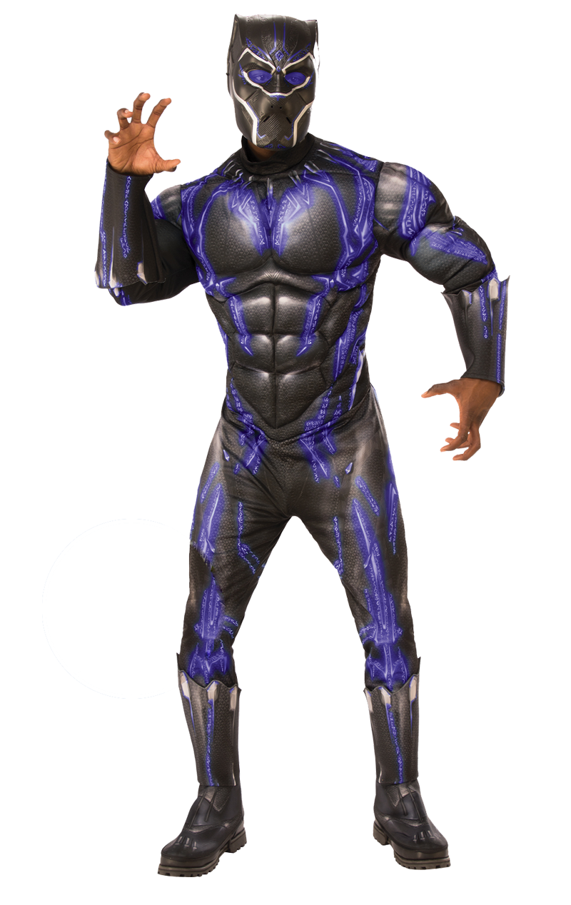 Black Panther Avengers Battle Costume