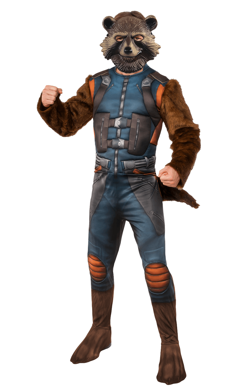 Mens Rocket Raccoon Costume