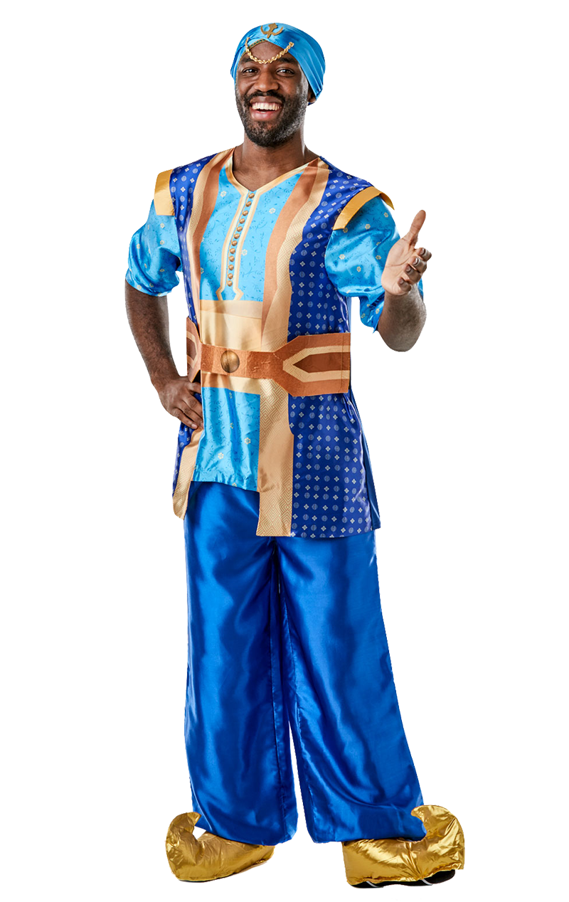 Mens Aladdin Genie Movie Costume