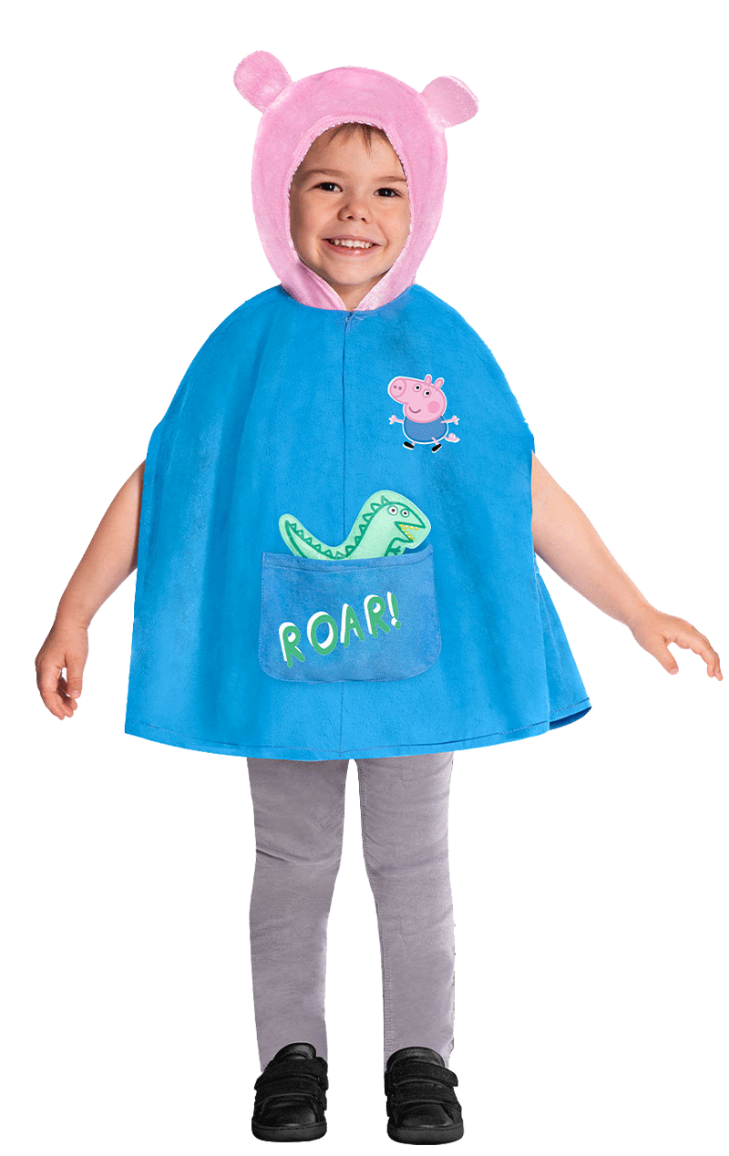 Kids George Peppa Pig Costume