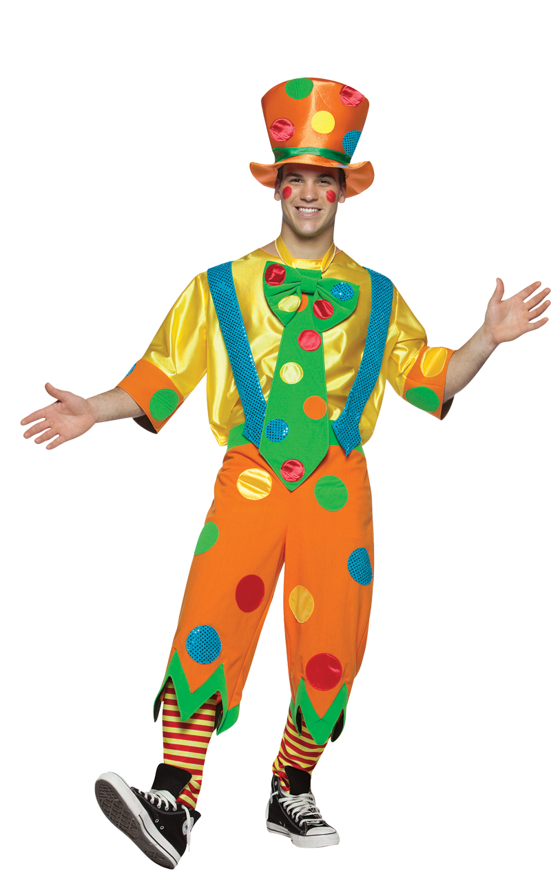 Adult Mr. Toots Clown Costume