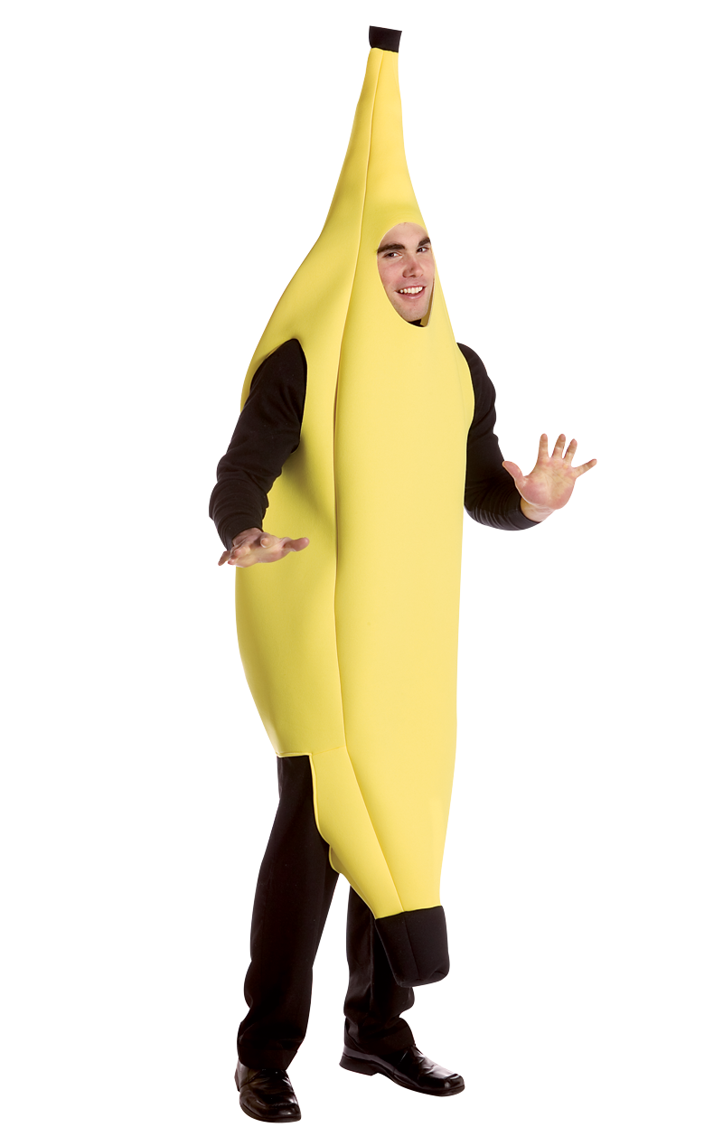 Mens Giant Banana Costume