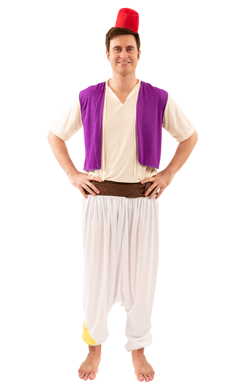 Mens Aladdin Costume
