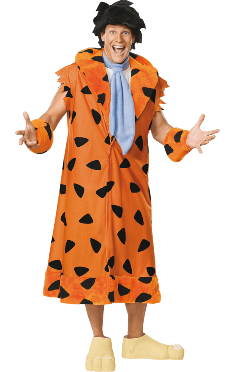Mens Deluxe Fred Flintstone Costume