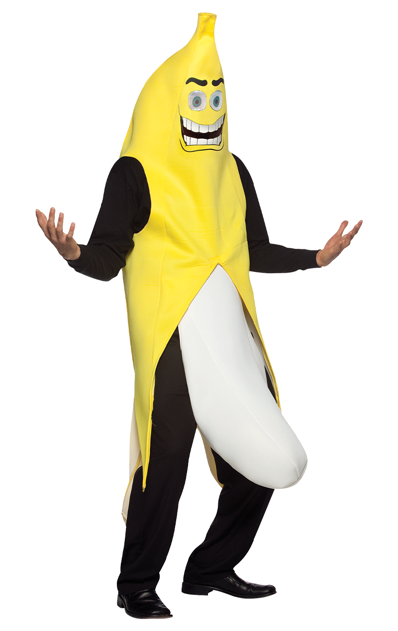 Adult Flashing Banana Costume