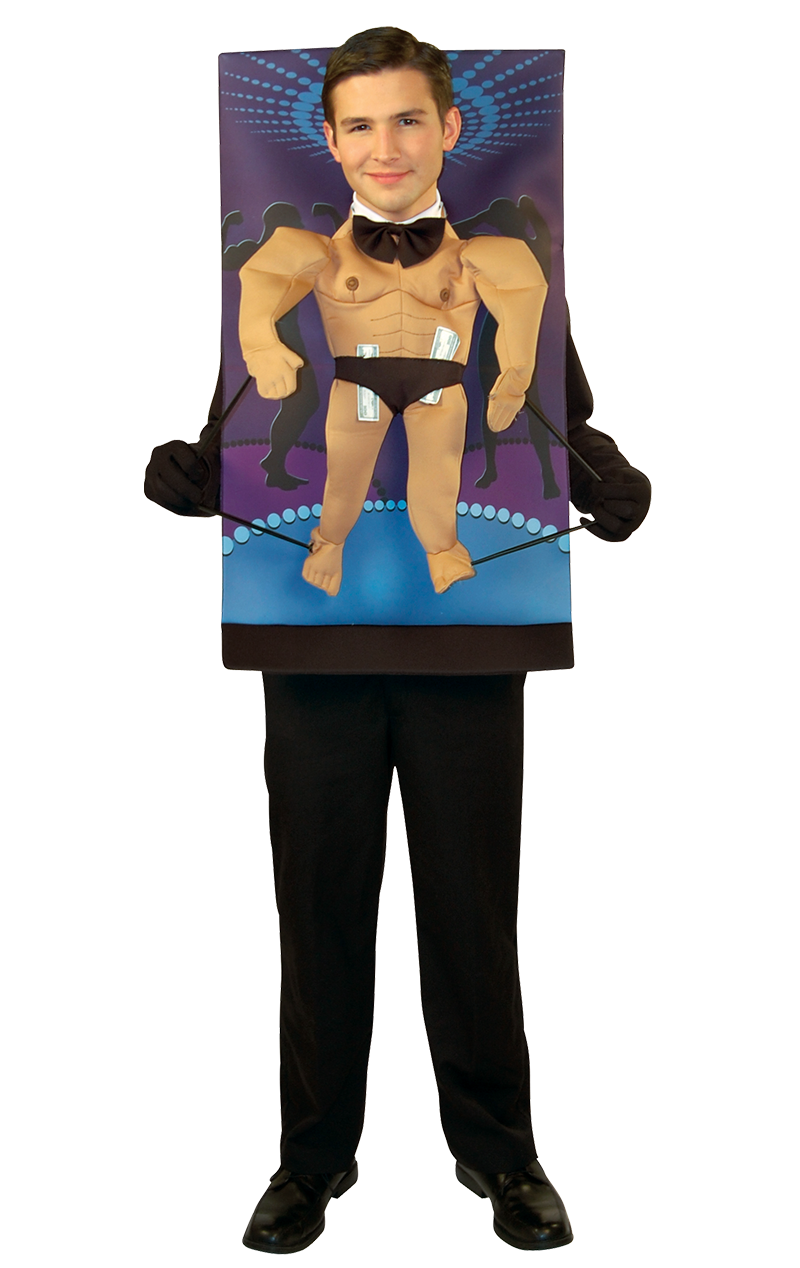 Adult Teenie Weenie Stripper Costume