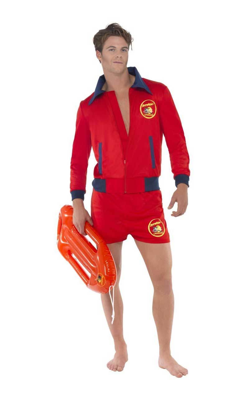 Mens Cool Baywatch Costume