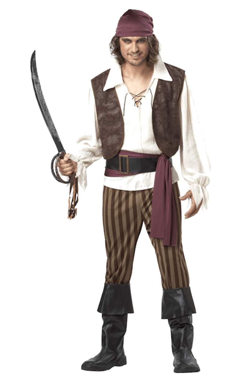 Adult High-Seas Rogue Pirate Costume