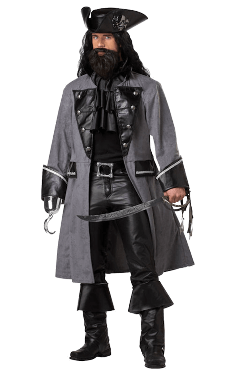 Adult Blackbeard the Pirate Costume