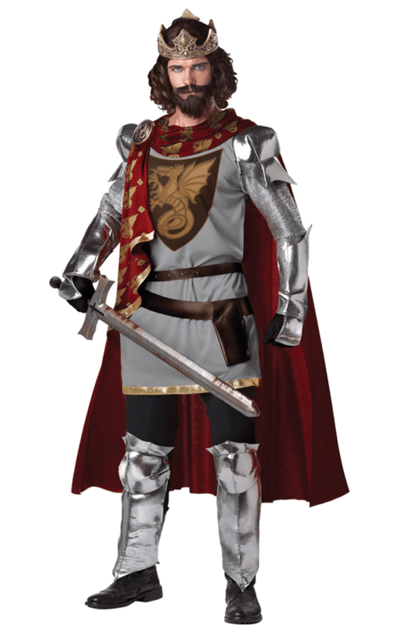 Adult King Arthur Medieval Costume